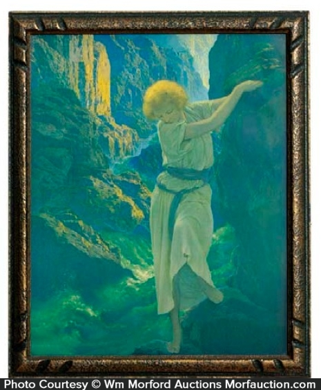 Maxfield Parrish Canyon Print