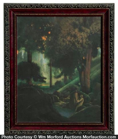 Maxfield Parrish Fountain Of Piriene Print