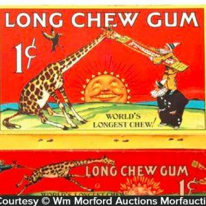 Long Chew Gum Box