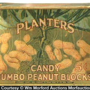 Planters Jumbo Peanut Blocks Box