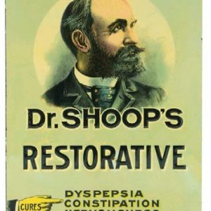 Dr. Shoop's Restorative Sign