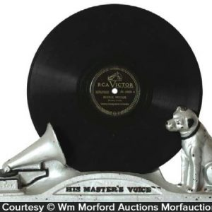 His Masters Voice Record Display