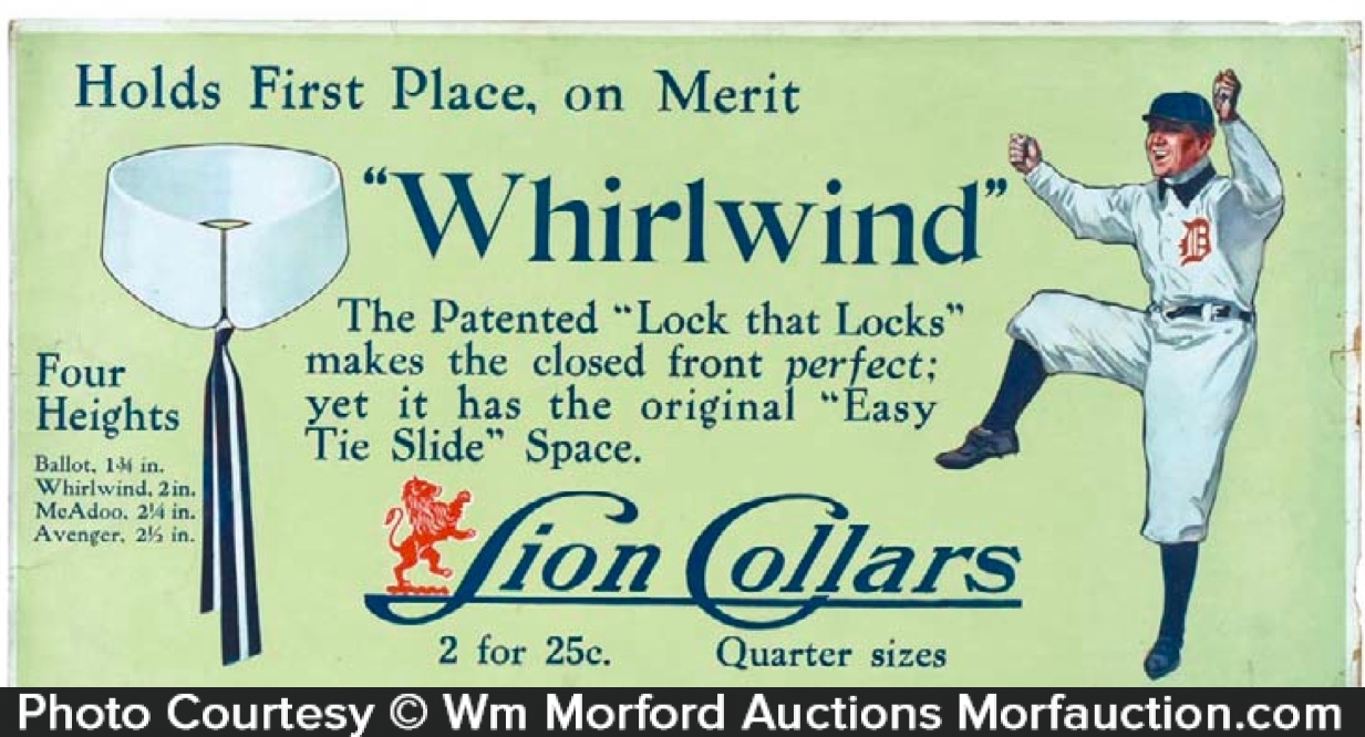 Whirlwind Lion Collars Sign