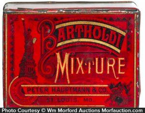 Bartholdi Mixture Tobacco Tin