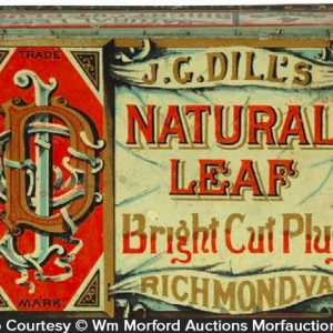 Natural Leaf Tobacco Tin
