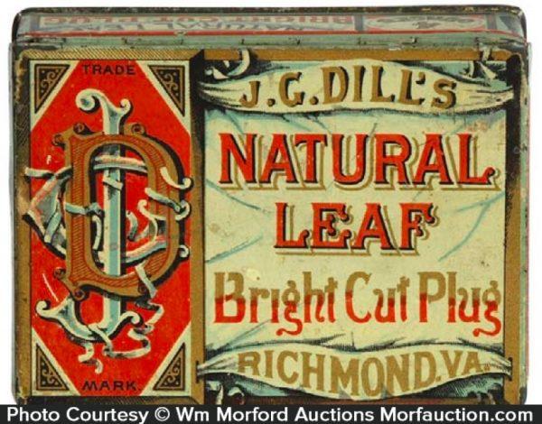 Natural Leaf Tobacco Tin