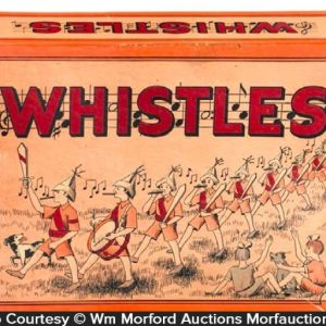 Whistles Candy Box