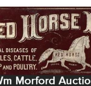 Red Horse Powder Ledger Marker