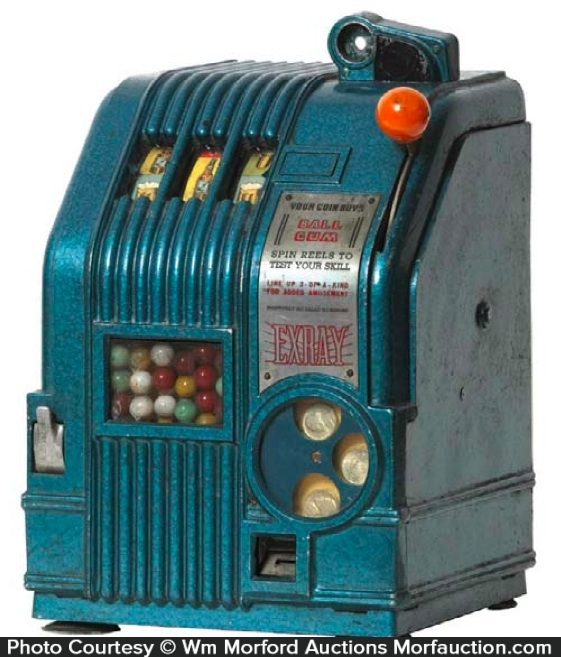 Ex-Ray Gum Slot Machine