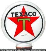 Texaco Gas Globe