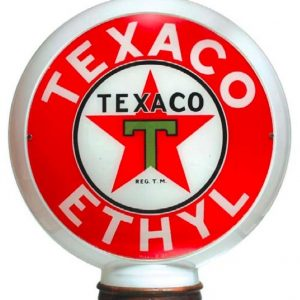 Texaco Ethyl Gas Globe