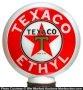 Texaco Ethyl Gas Globe