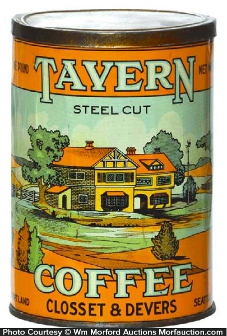 Tavern Coffee Can