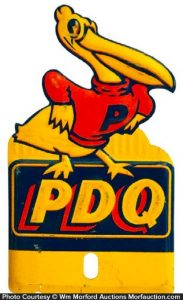 Pdq Motor Oil Tag