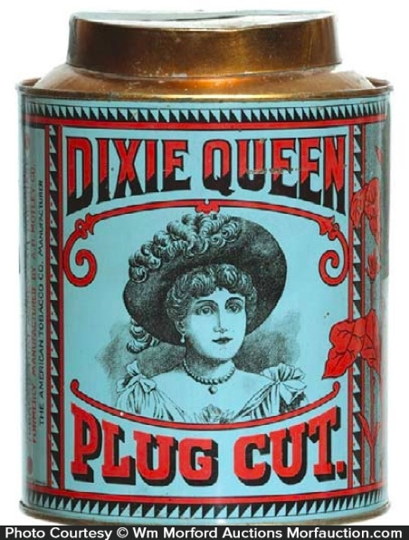 Dixie Queen Tobacco Tin