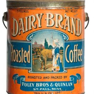 Dairy Brand Coffee Pail