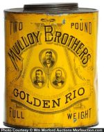 Mulloy's Golden Rio Coffee Can