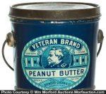 Veteran Peanut Butter Pail