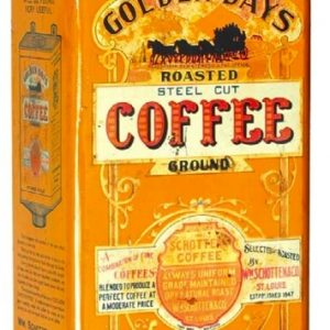 Golden Days Coffee Can