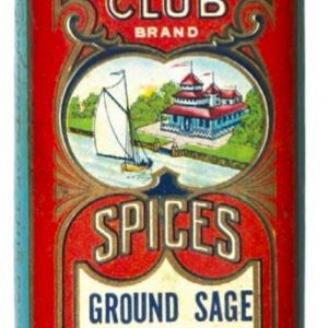 Delmar Club Spice Tin