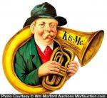Kis-Me Gum Display Sign