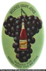 Welch's Grape Juice Pocket Mirror