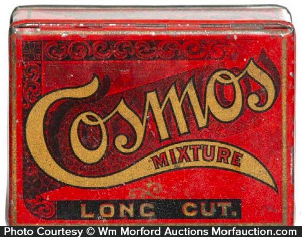 Cosmos Tobacco Tin