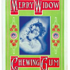 Merry Widow Gum Sign