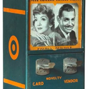 Novelty Card Vending Machine