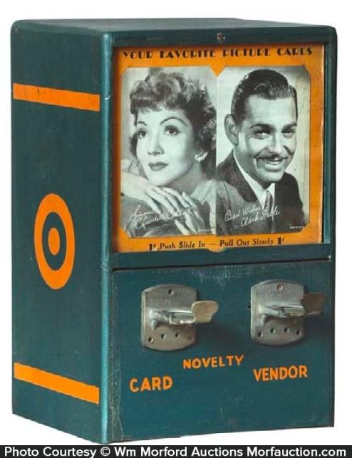 novelty vending machine
