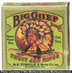 Big Chief Jar Rings Box