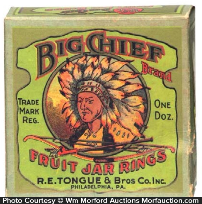 Big Chief Jar Rings Box