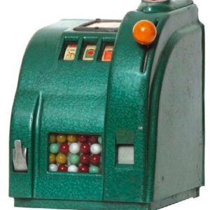 Jiffy Gum Vendor Cigarettes Slot Machine