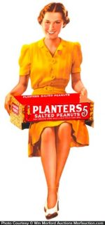 Planters Peanuts Display Sign