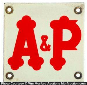 A & P Sign