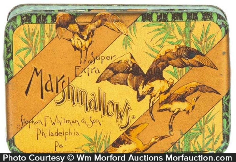 Whitman Marshmallows Tin