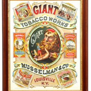 Giant Tobacco Works Sign