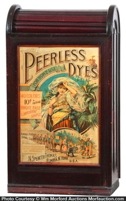 Peerless Dyes Cabinet