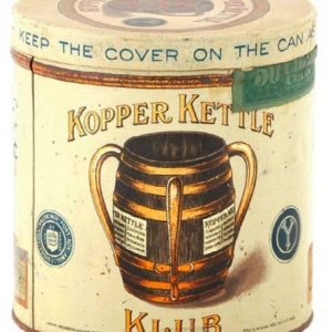 Kopper Kettle Klub Cigar Tin