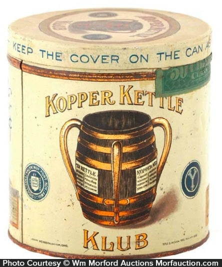 Kopper Kettle Klub Cigar Tin