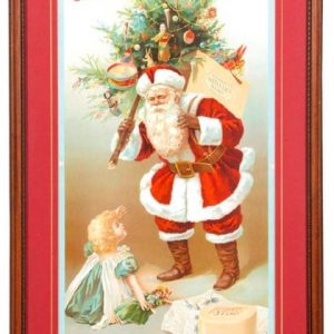 Santa Claus Soap Sign
