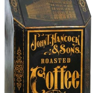 Hancock Acme Coffee Store Bin