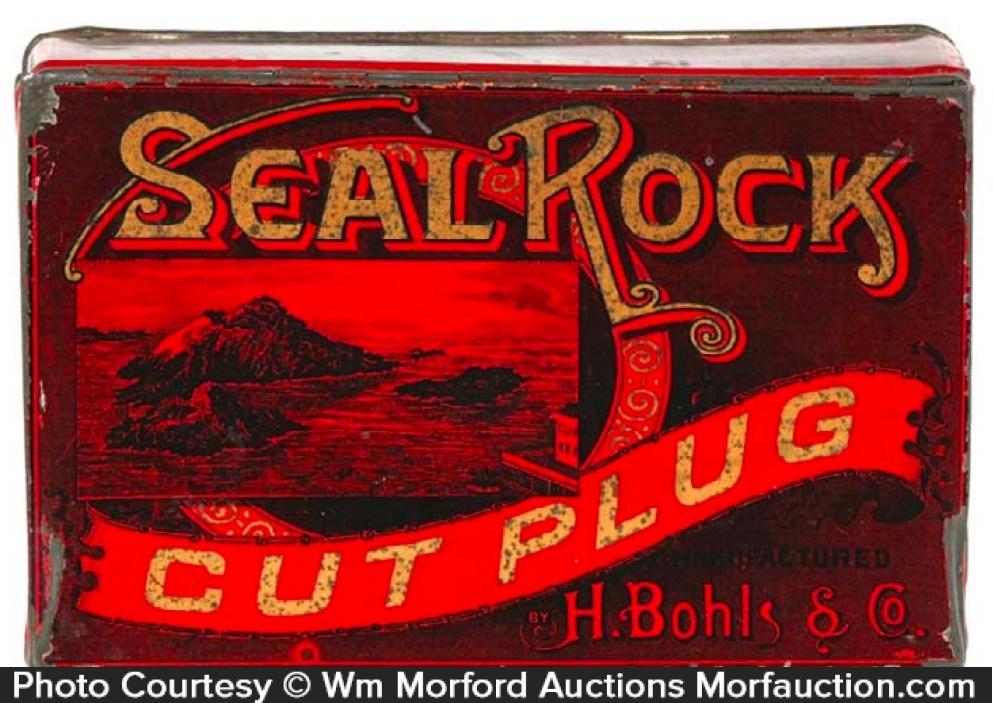 Seal Rock Tobacco Tin