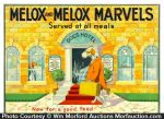 Melox Marvels Dog Food Sign