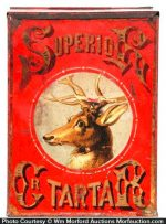 Superior Tartar Store Tin