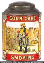 Corn Cake Tobacco Tin