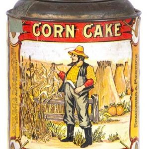 Corn Cake Tobacco Tin