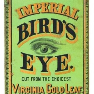 Imperial Bird's Eye Tobacco Tin