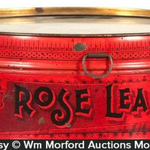Rose Leaf Tobacco Tin