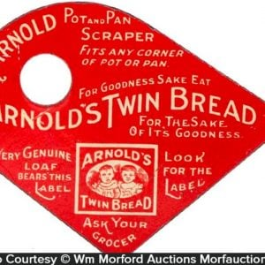 Arnold's Twin Bread Pot Scraper